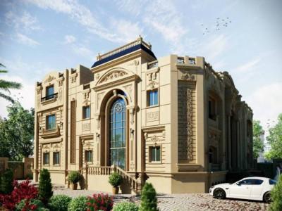 Thiết kế xây dựng biệt thự cổ điển