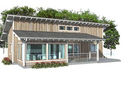 Xây dựng kiến trúc nhà vườn