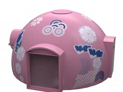 Nhà Dome tròn 02