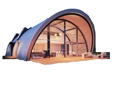 Nhà đúc sẵn thiết kế hiện đại