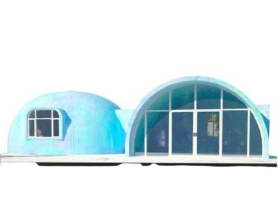 Nhà lắp ghép mẫu số 10  tròn 360 độ