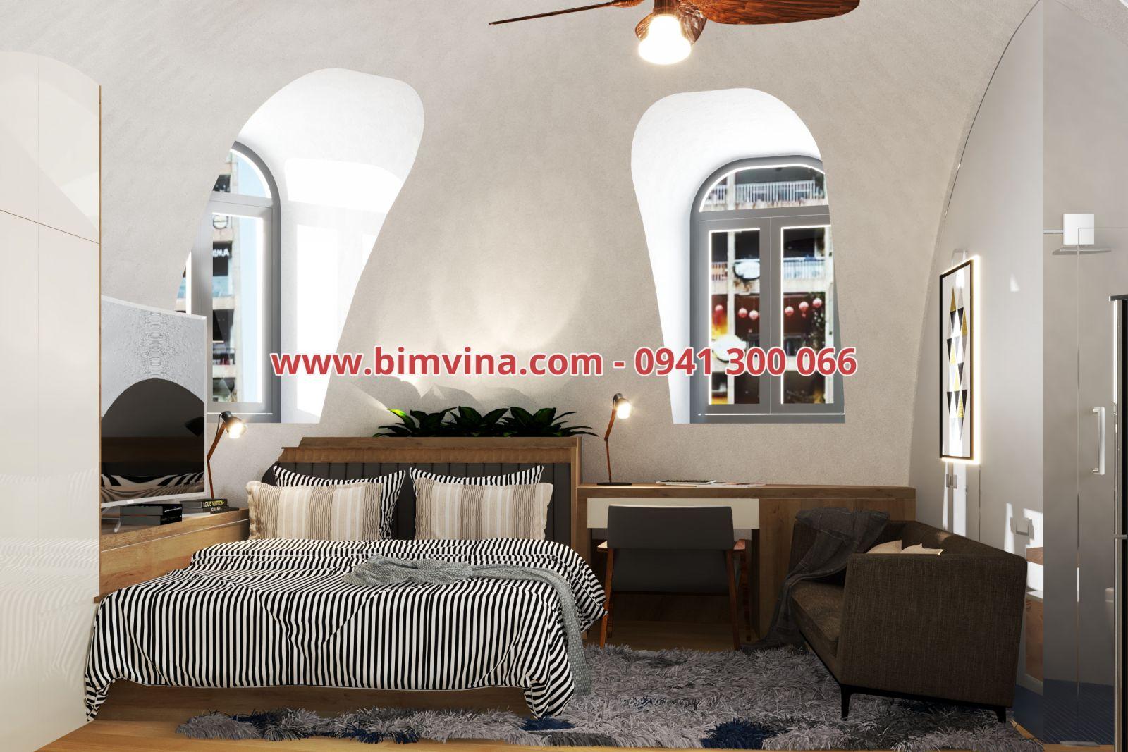 nội thất nhà dome house
