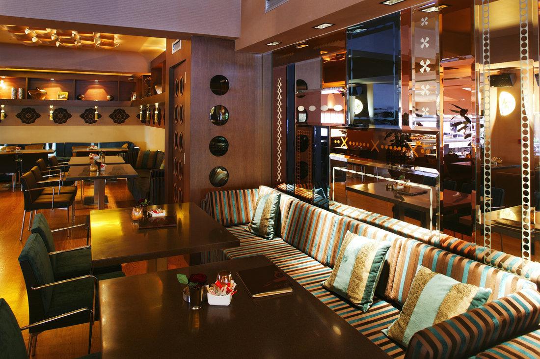 Mẫu thiết kế quán cafe theo phong cách hiện đại