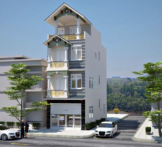 Mẫu thiết kế kiến trúc nhà phố