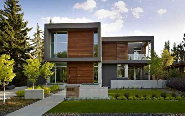 Thi công thiết kế nhà hiện đại