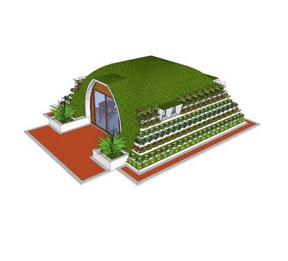 Nhà đúc sẵn 40m2 [composite cao cấp]