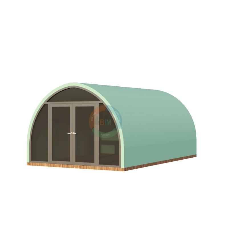 Dome frp mẫu 8