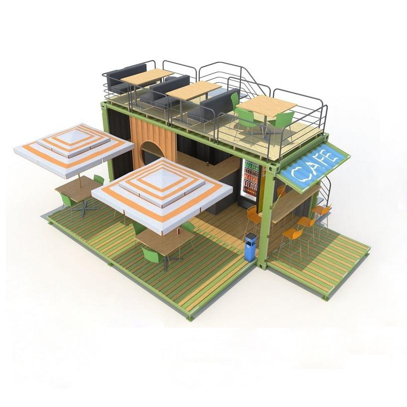 Thi công kiến trúc quán cafe sinh viên